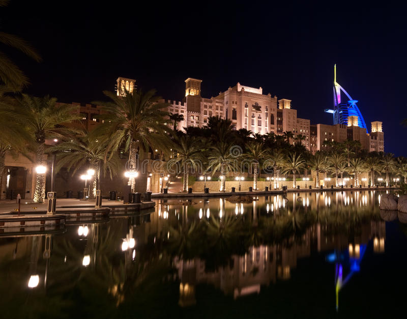 Download Burj-al-arab II stock photo. Image of night, exotic, restaurant - 15259426