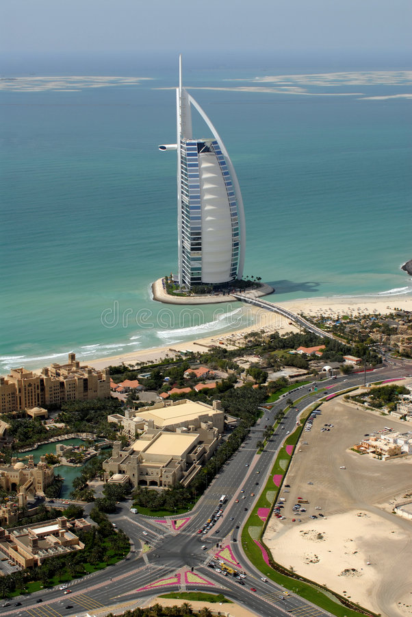 Free Burj Al Arab & The World Stock Photos - 3162603