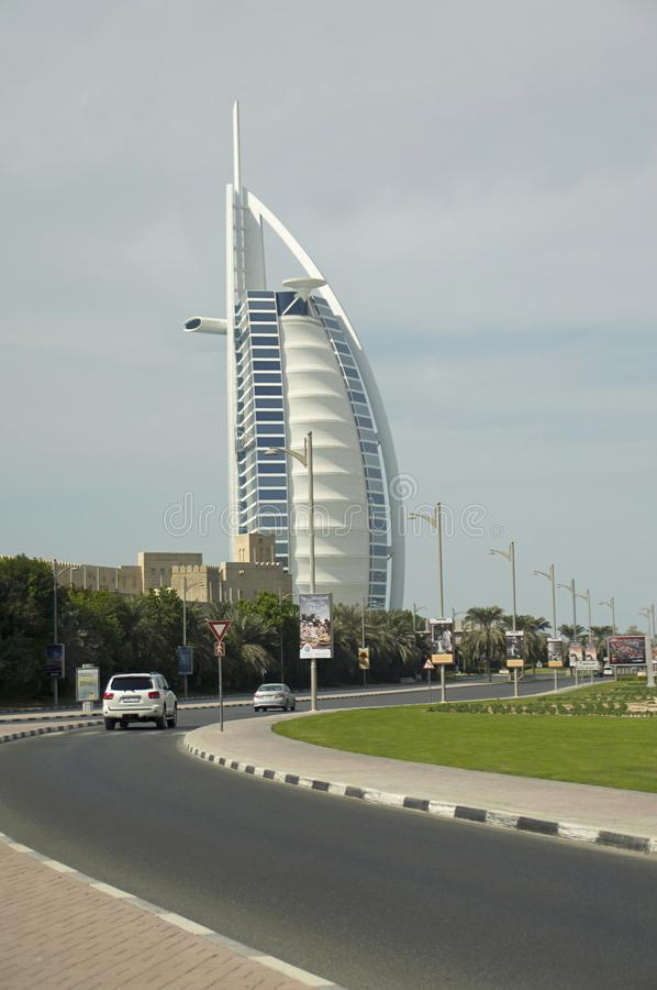 Burj Al Arab, Tower of the Arabs, is a luxury hotel located in Dubai, United Arab Emirates. royalty free stock photos