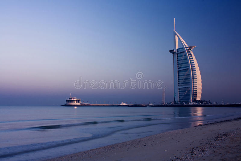 Burj Al Araber, Dubai lizenzfreies stockbild