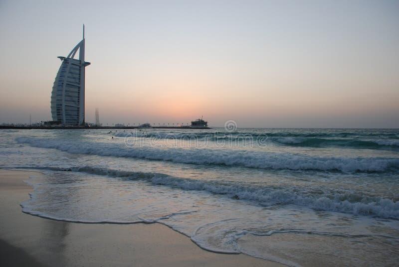 Burj Al-Araber-Hotel lizenzfreie stockfotografie