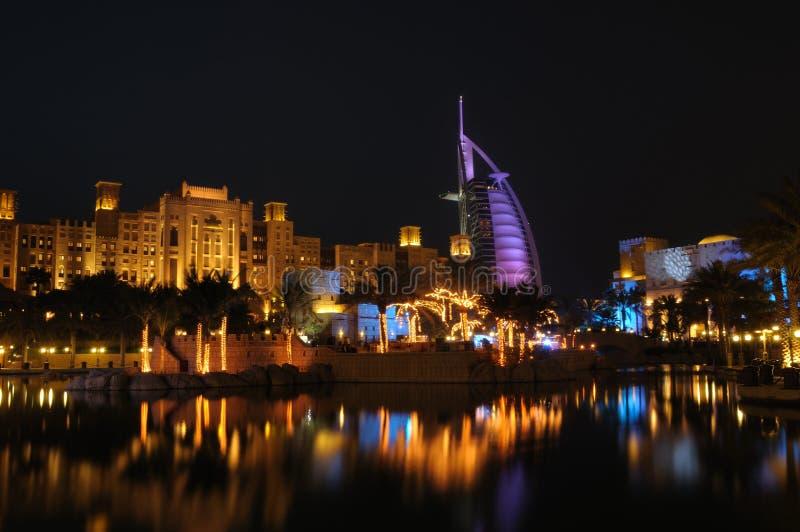 Burj Al-Araber-Hotel stockfoto
