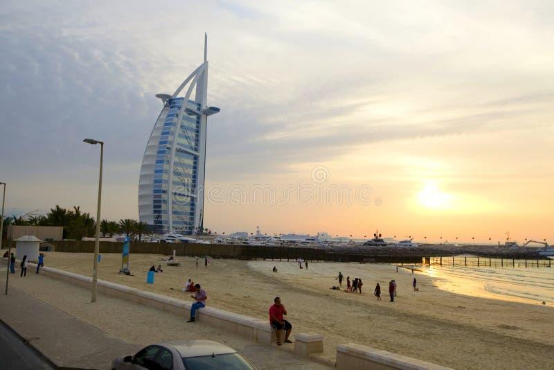 Burj-Al Araberhotel lizenzfreies stockfoto