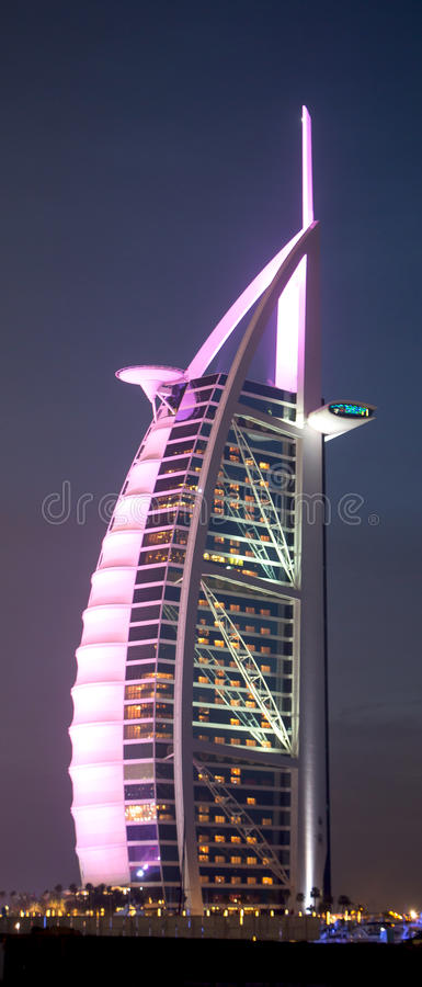 Burj alarab fotografering för bildbyråer