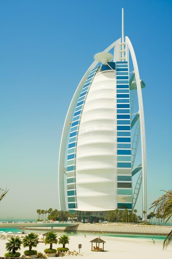 Burj Alaraber in Dubai stockbilder