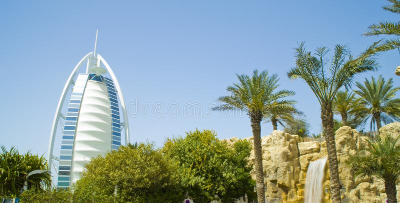 Burj-alaraber Dubai Stockbilder