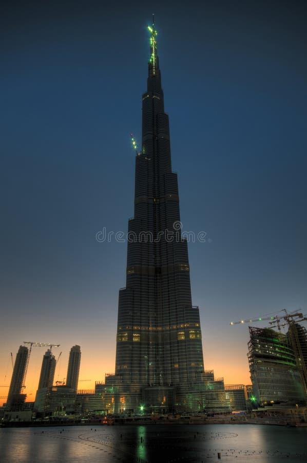 Burj Doubai royalty-vrije stock foto