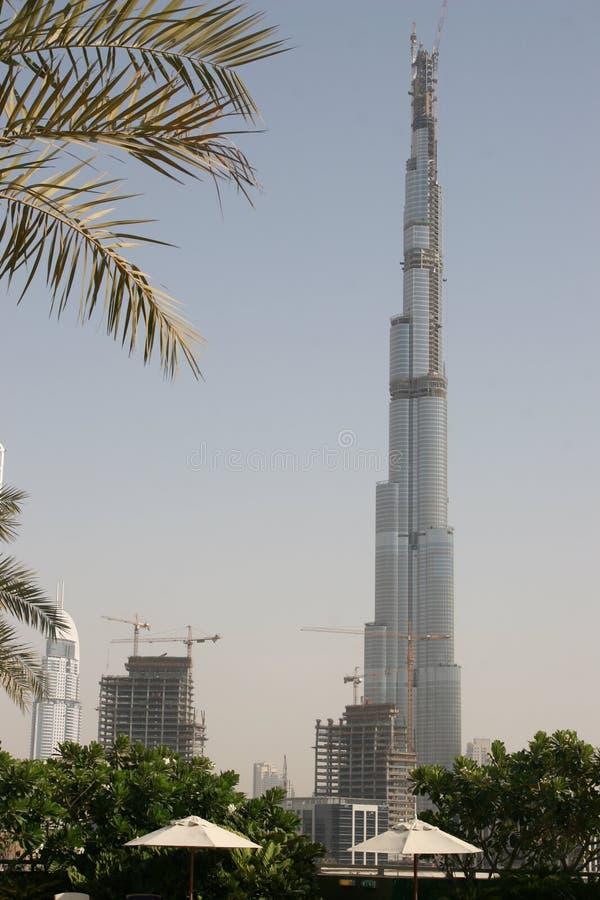Burj Doubai royalty-vrije stock afbeelding