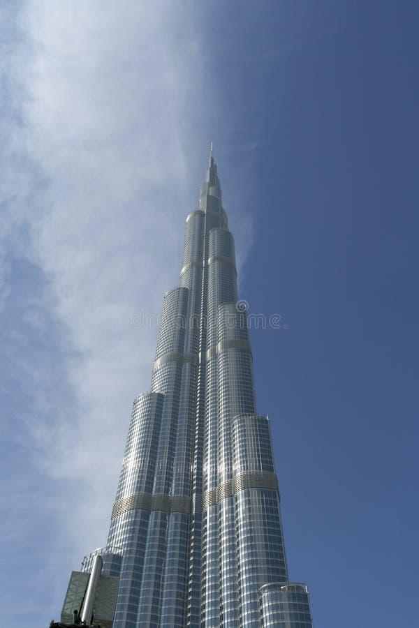 Khalifa van Burj royalty-vrije stock foto