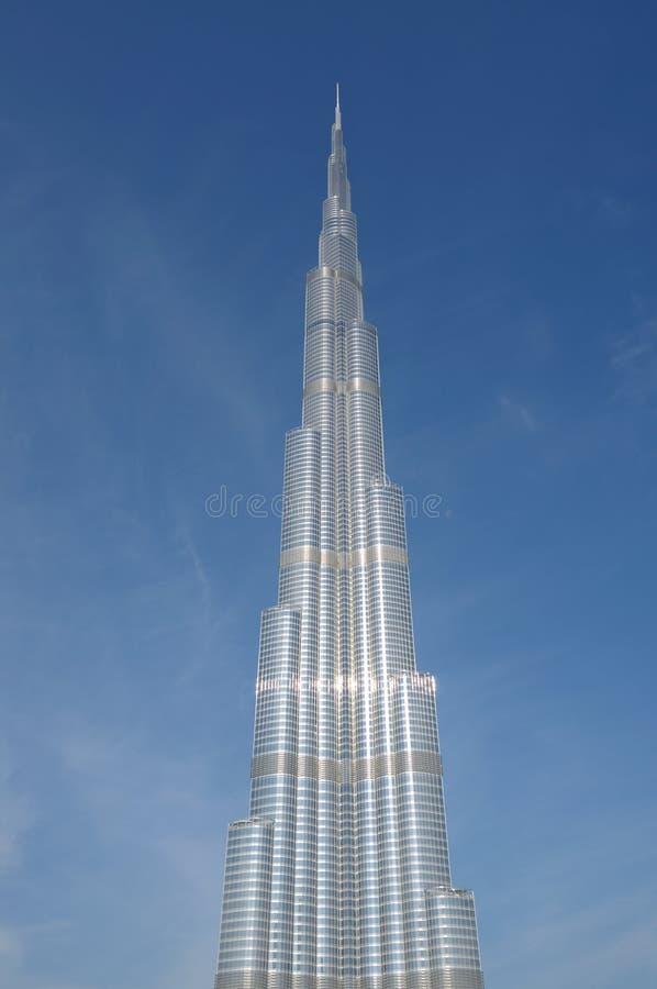 Burj Doubai - più alto grattacielo nel mondo immagine stock libera da diritti