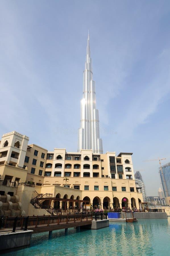 Burj Doubai - più alto grattacielo nel mondo immagine stock