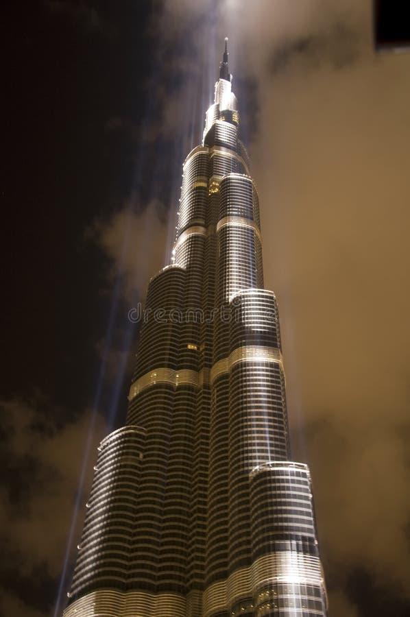 Download Burj Dubai editorial stock photo. Image of illuminated - 12362583