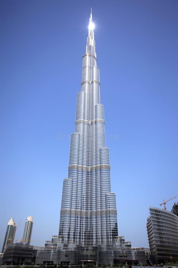 Burj Dubai imagem de stock