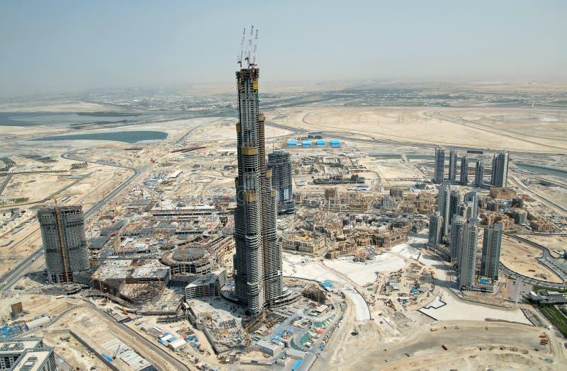 Burj Dubai stockfotos
