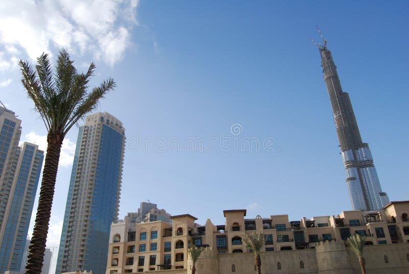 Burj Dubai fotos de stock royalty free