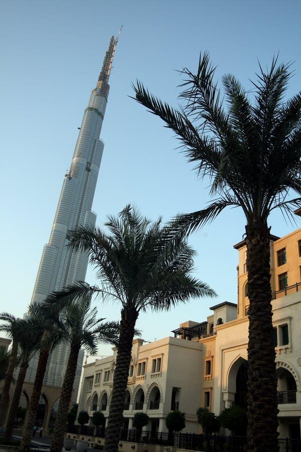 burj Dubai fotografia royalty free