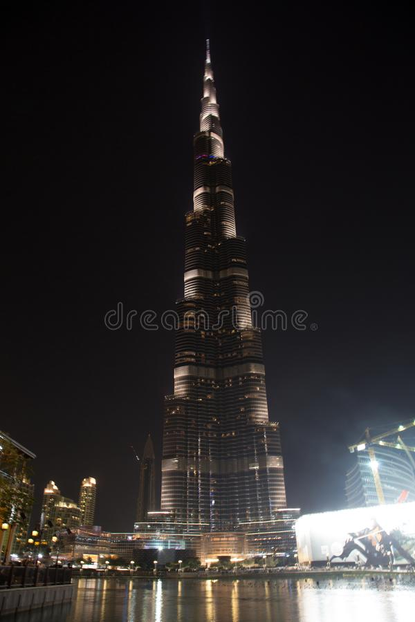 burj Dubai khalifa obraz stock