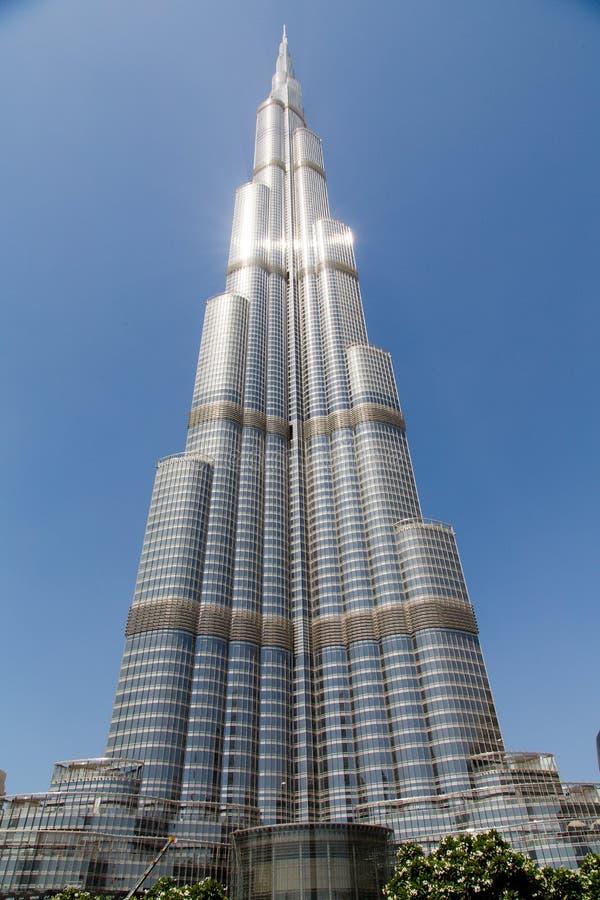 burj Dubai khalifa zdjęcia royalty free