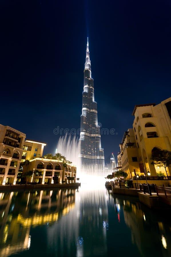 Download Burj Dubai khalifa obraz stock. Obraz złożonej z duży - 23955401