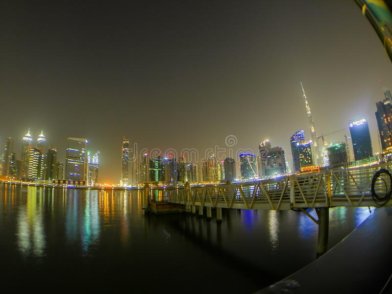 burj Dubai khalifa wysoki wierza uae światowy obraz stock