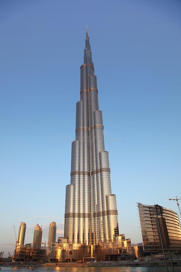 Download Burj Dubai View With Water Shore Editorial Photo - Image: 12497186