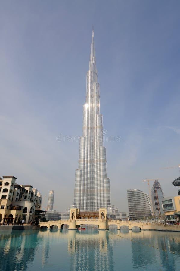 burj Dubai wysoki drapacz chmur świat obraz royalty free