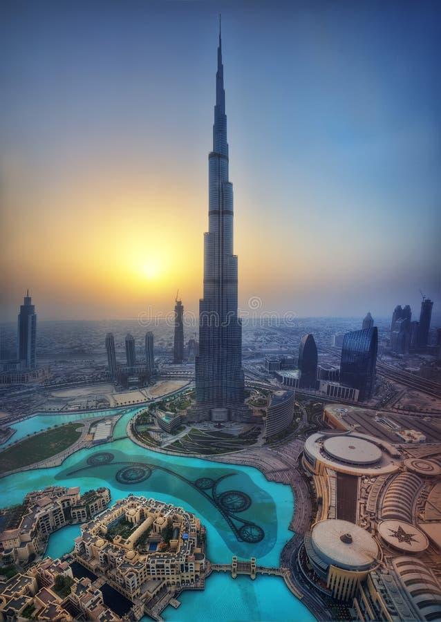 Burj Kalif, Dubaj, UAE zdjęcie stock