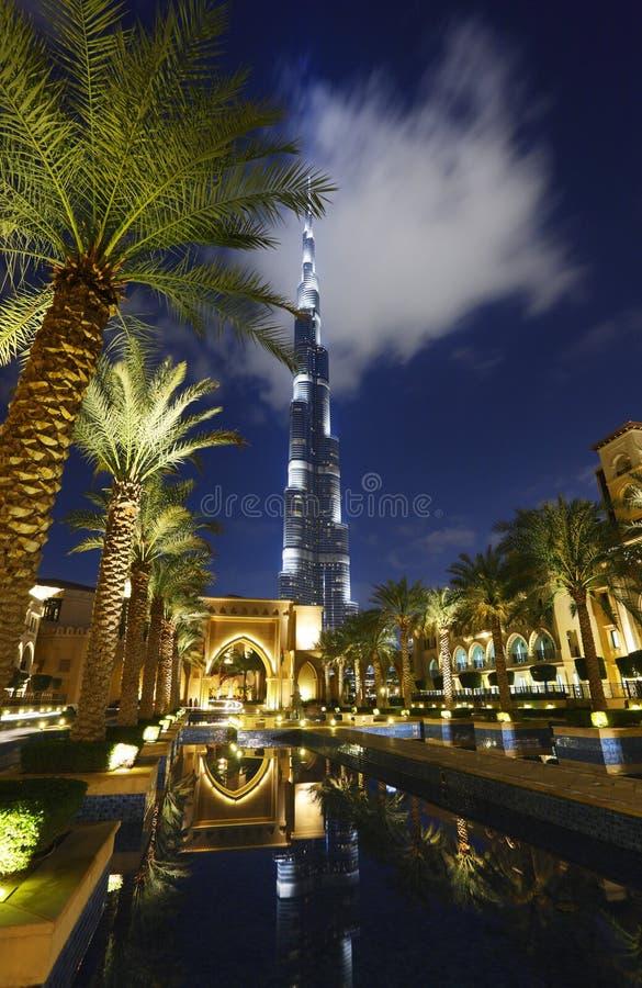 Burj Kalifa royaltyfri foto
