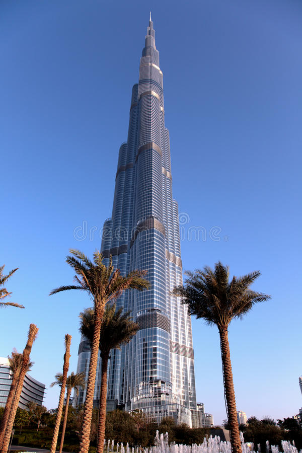 Burj Khalif foto de stock