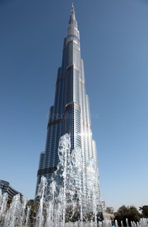 Burj Khalif imagens de stock