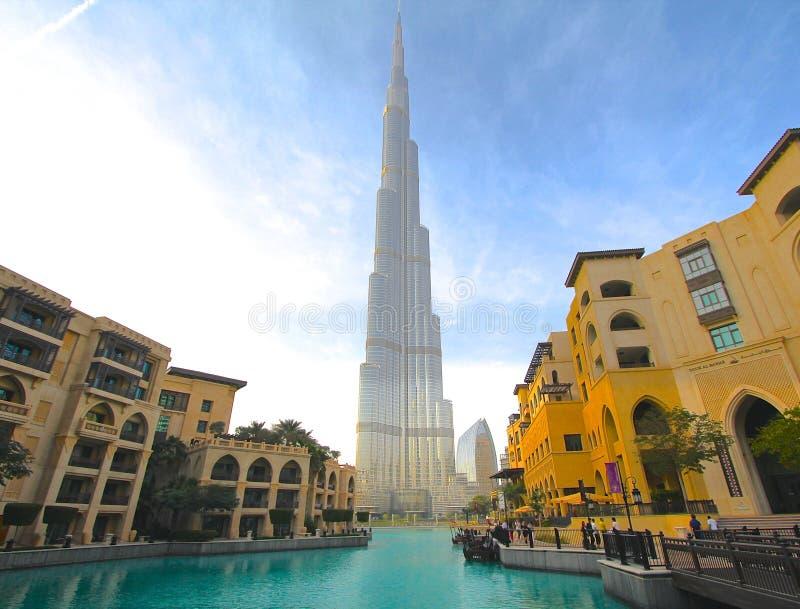 burj khalifa του Ντουμπάι στοκ φωτογραφία με δικαίωμα ελεύθερης χρήσης