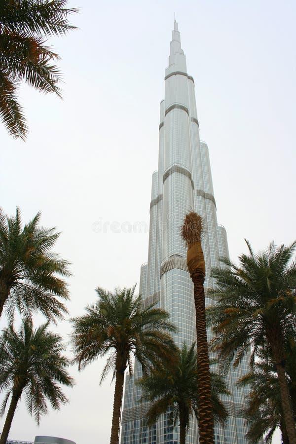 Burj Khalifa в Дубай, объединенном арабе Enirates стоковое фото