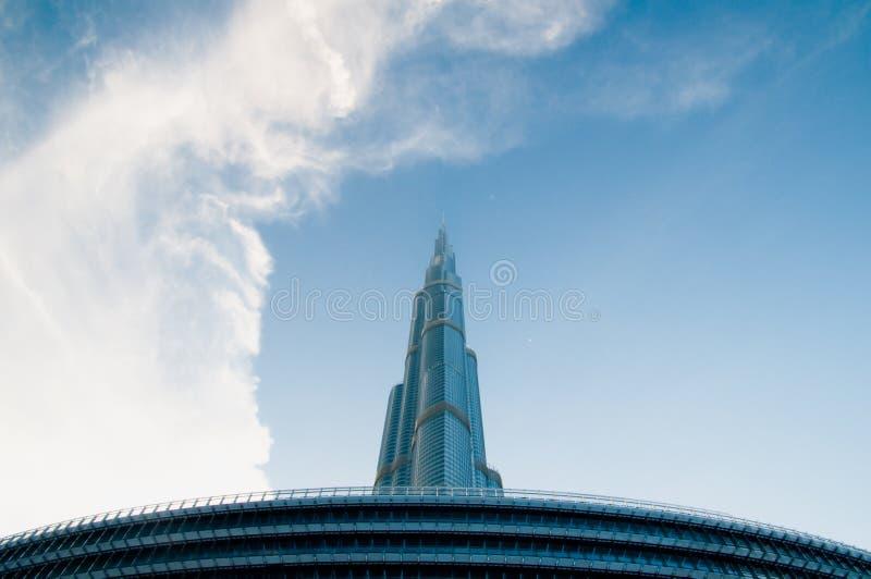 Burj Khalifa Дубай стоковая фотография