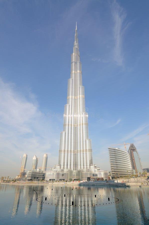 burj khalifa zdjęcie stock