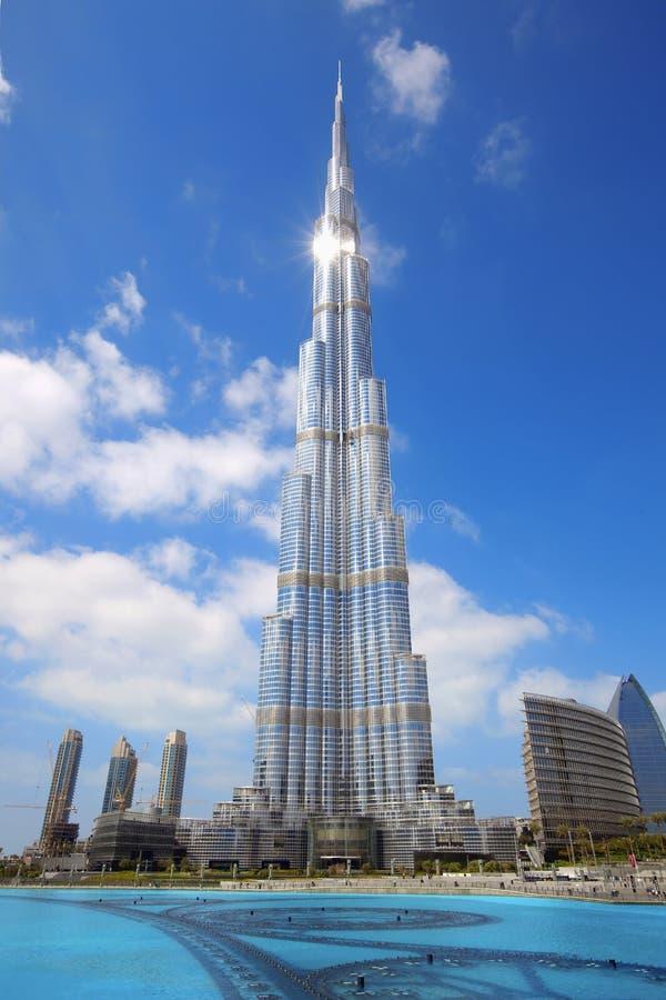 burj khalifa 库存照片