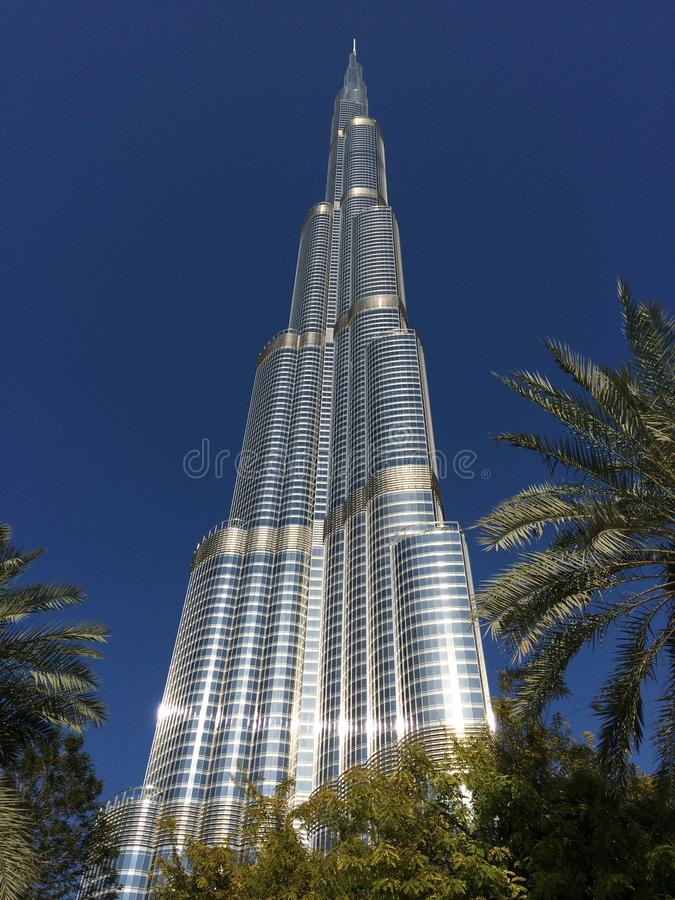 Burj Khalifa stock afbeelding