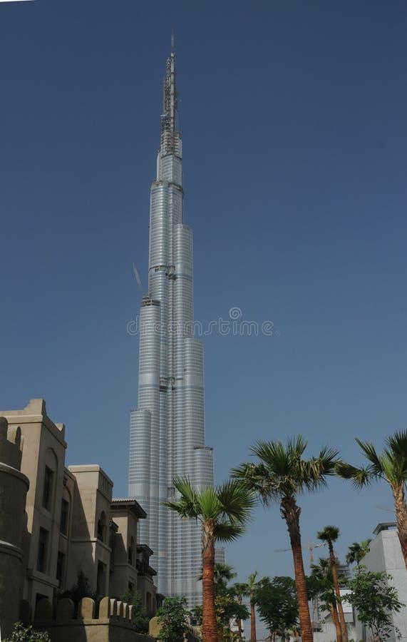 burj khalifa στοκ φωτογραφία