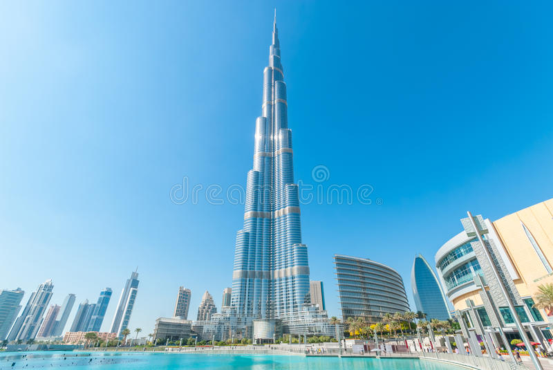 Burj Khalifa fotos de stock royalty free