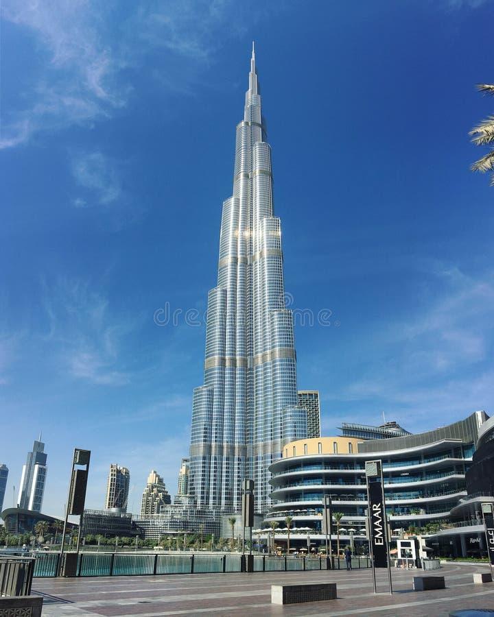 Burj-khalifa bei Dubai stockfoto