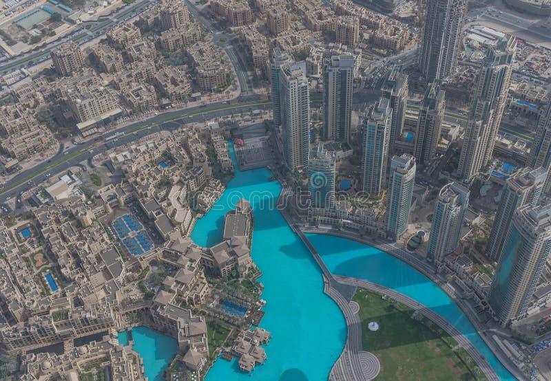 Burj Khalifa, das höchste Gebäude in der Welt dubai stockfotografie