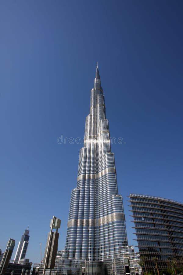 Burj Khalifa in Doubai stock foto