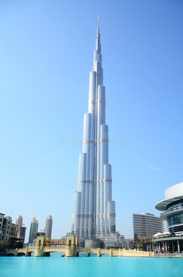 Burj Khalifa, Doubai fotografie stock libere da diritti