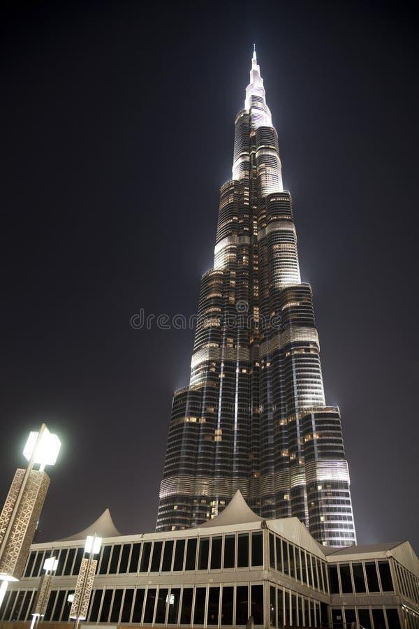 Burj Khalifa, Doubai, de V.A.E royalty-vrije stock afbeelding