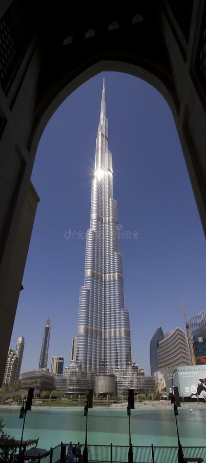 Burj Khalifa - Doubai, Verenigde Arabische Emiraten royalty-vrije stock foto