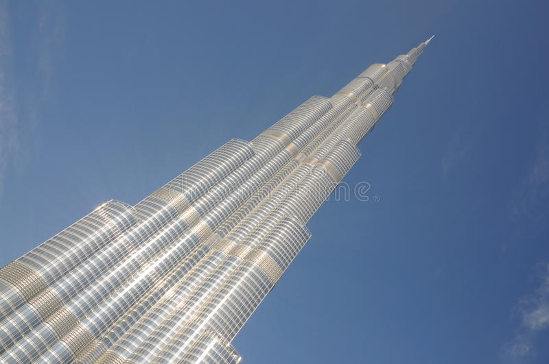 Burj Khalifa, Dubaï photo stock