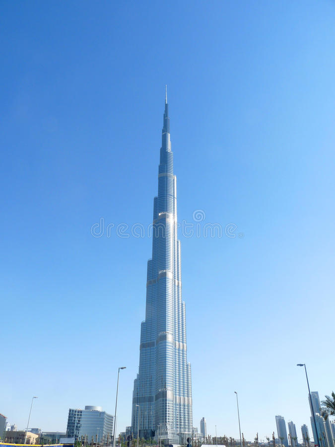 Burj Khalifa Dubai stock photos
