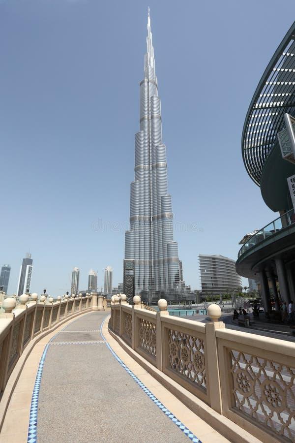 Burj Khalifa, Dubai imagen de archivo libre de regalías