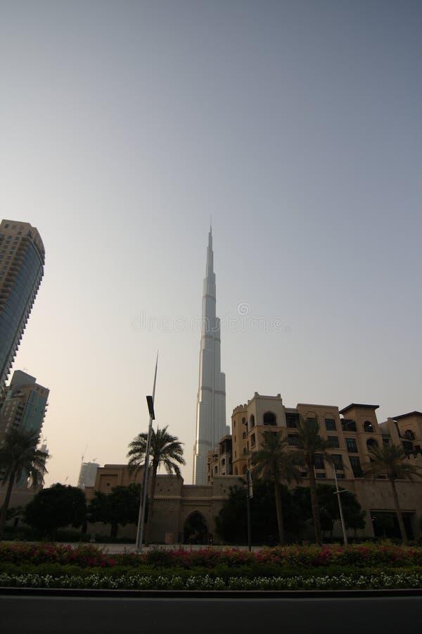 Download Burj Khalifa in Dubai stock photo. Image of towering - 20953564