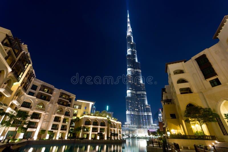 Burj Khalifa, Dubai foto de archivo