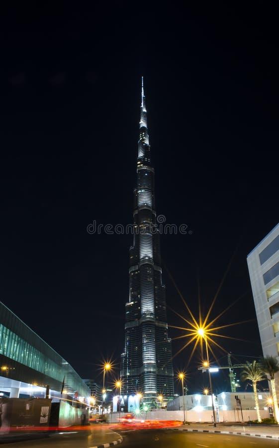 Burj Khalifa Dubai stock image